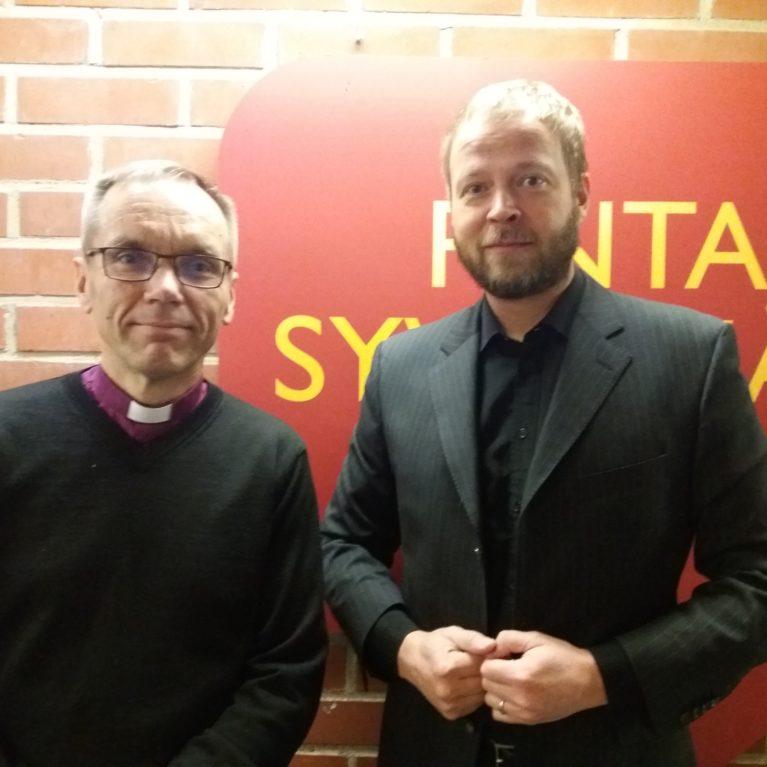 Laajasalon vieraana Björn Vikström (kuuntele)