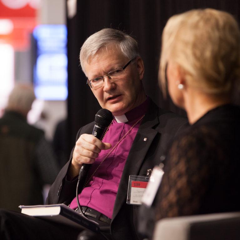 Kyselytunnilla suorassa lähetyksessä Mikkelin piispa Seppo Häkkinen