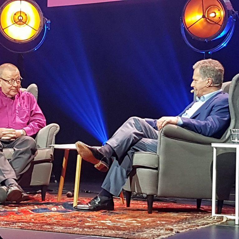 KUUNTELE: Mitä presidentti Sauli Niinistö ajattelee kymmenestä käskystä?