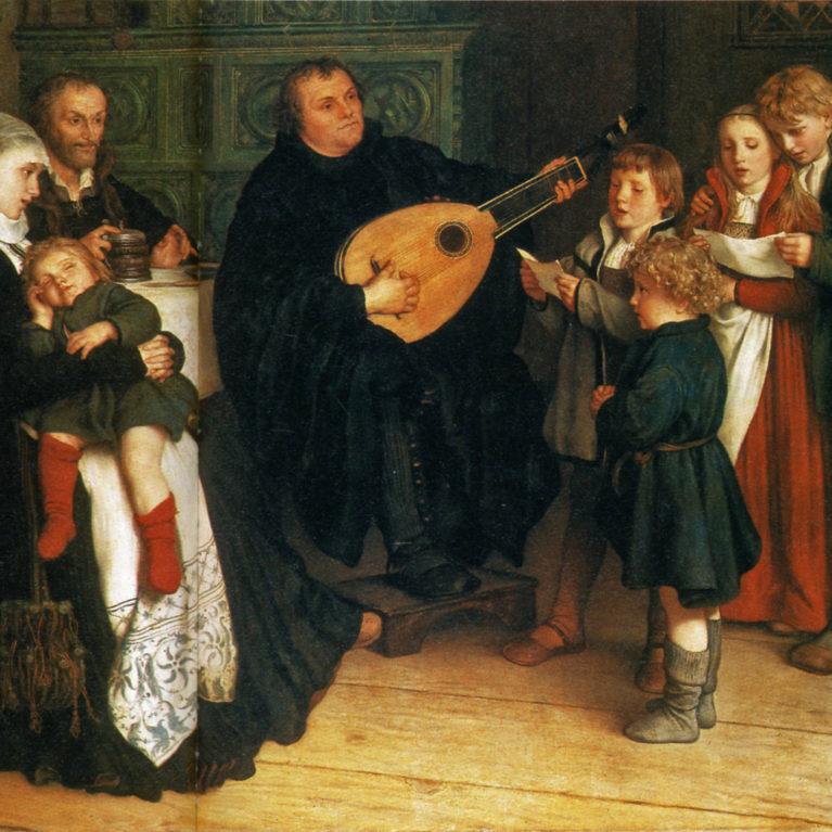 Lutherin aikaan musiikki muuttui