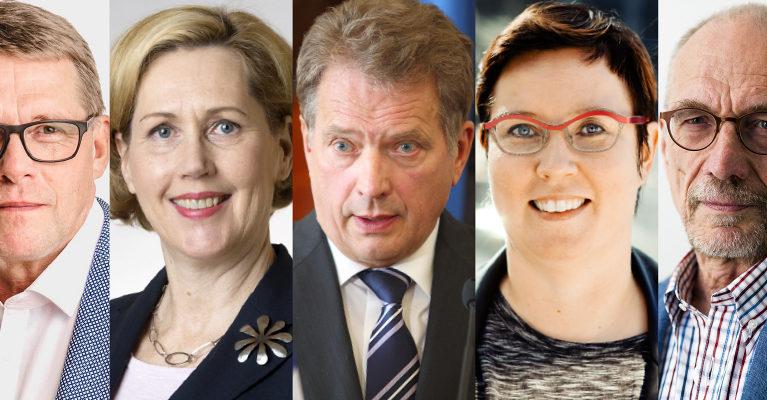 Radio Dei tenttaa presidentinvaalien ehdokkaat
