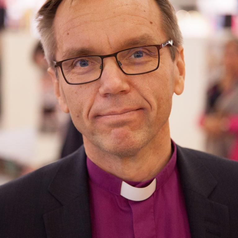 Arkkipiispatentissä Porvoon piispa Björn Vikström