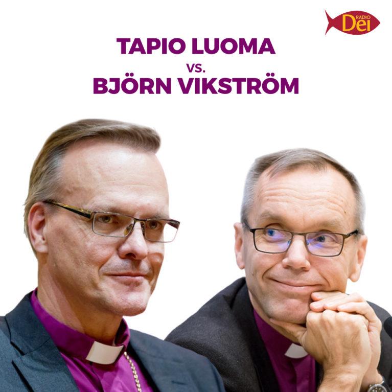 Luoma ja Vikström kohtaavat arkkipiispatentissä