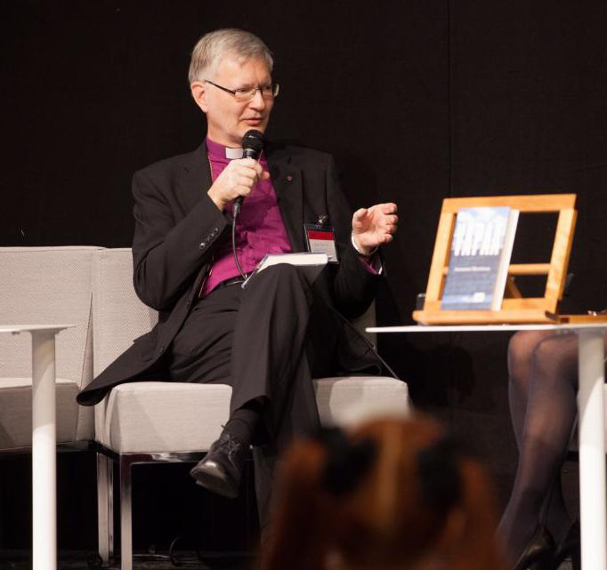 Mikkelin piispa Seppo Häkkinen maakunnallisen ja kirkollisen median tentissä