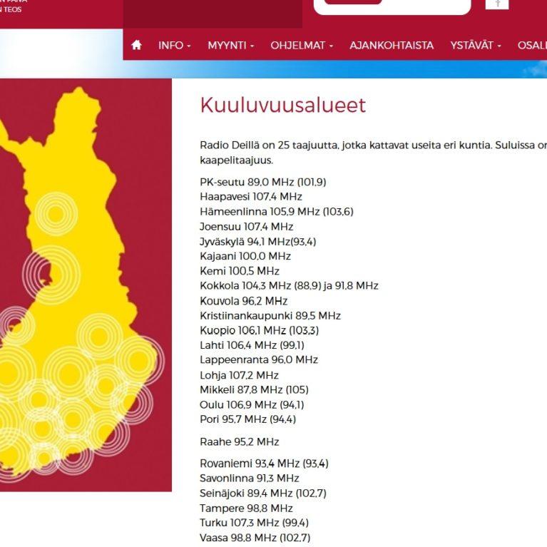 Radio Dei käynnistää lähetykset Raahessa