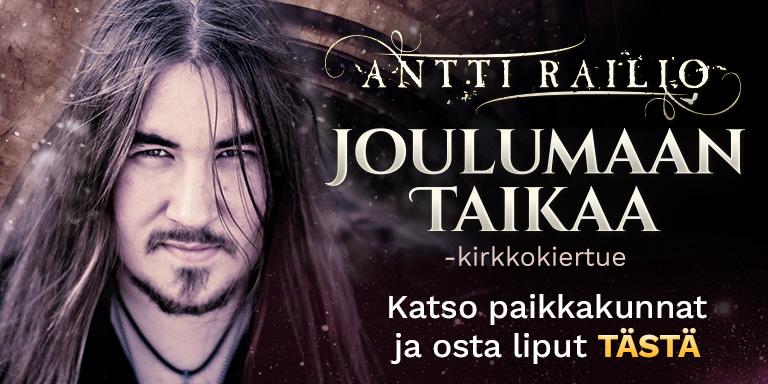 ma 01.10 –ke 31.10 Antti Railio Joulumaan taikaa
