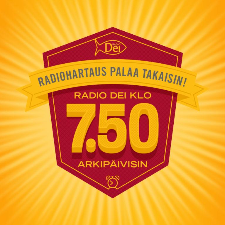 KUUNTELE: Radio Dei täyttää perinteikkään kello 7.50 radiohartauspaikan