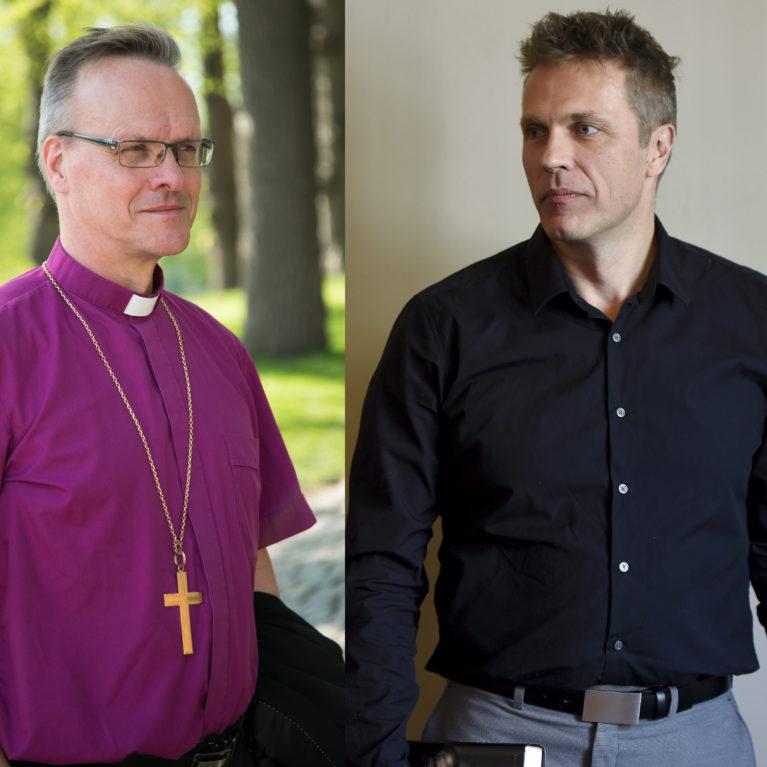 """KUUNTELE: """"Kirkko tarvitsee uskonpuhdistuksen"""" – Jari Sarasvuo kohtaa arkkipiispan radiodebatissa"""