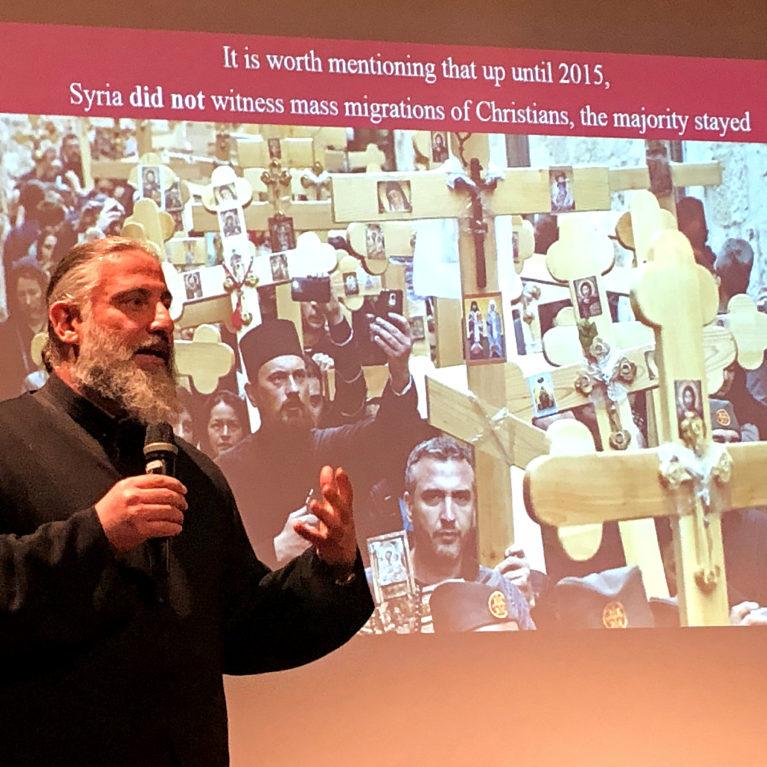 KUUNTELE: Isä Alexi toivoo rauhan palaavan Syyriaan Jumalan tahdosta ja Hänen avullaan