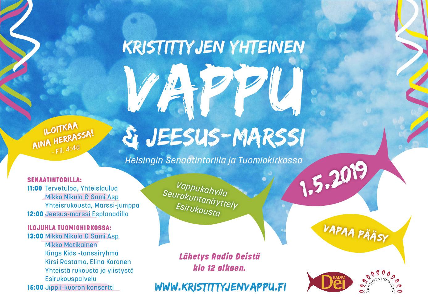 Kristittyjen yhteinen vappu & Jeesus-marssi